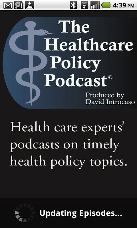health care policy topics