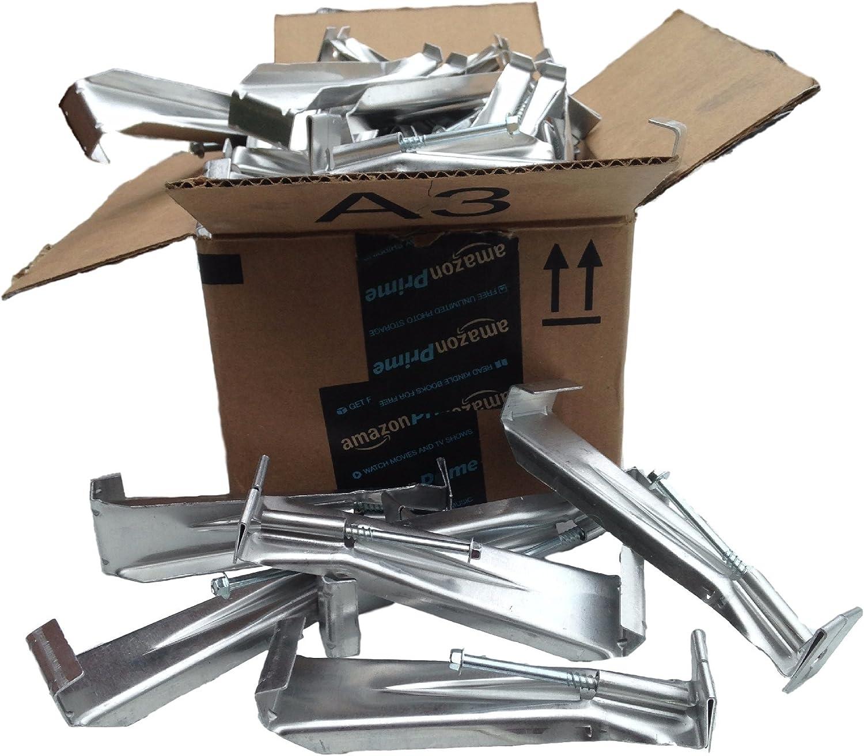 6 inch Quick Screw hidden gutter hanger 50 pack