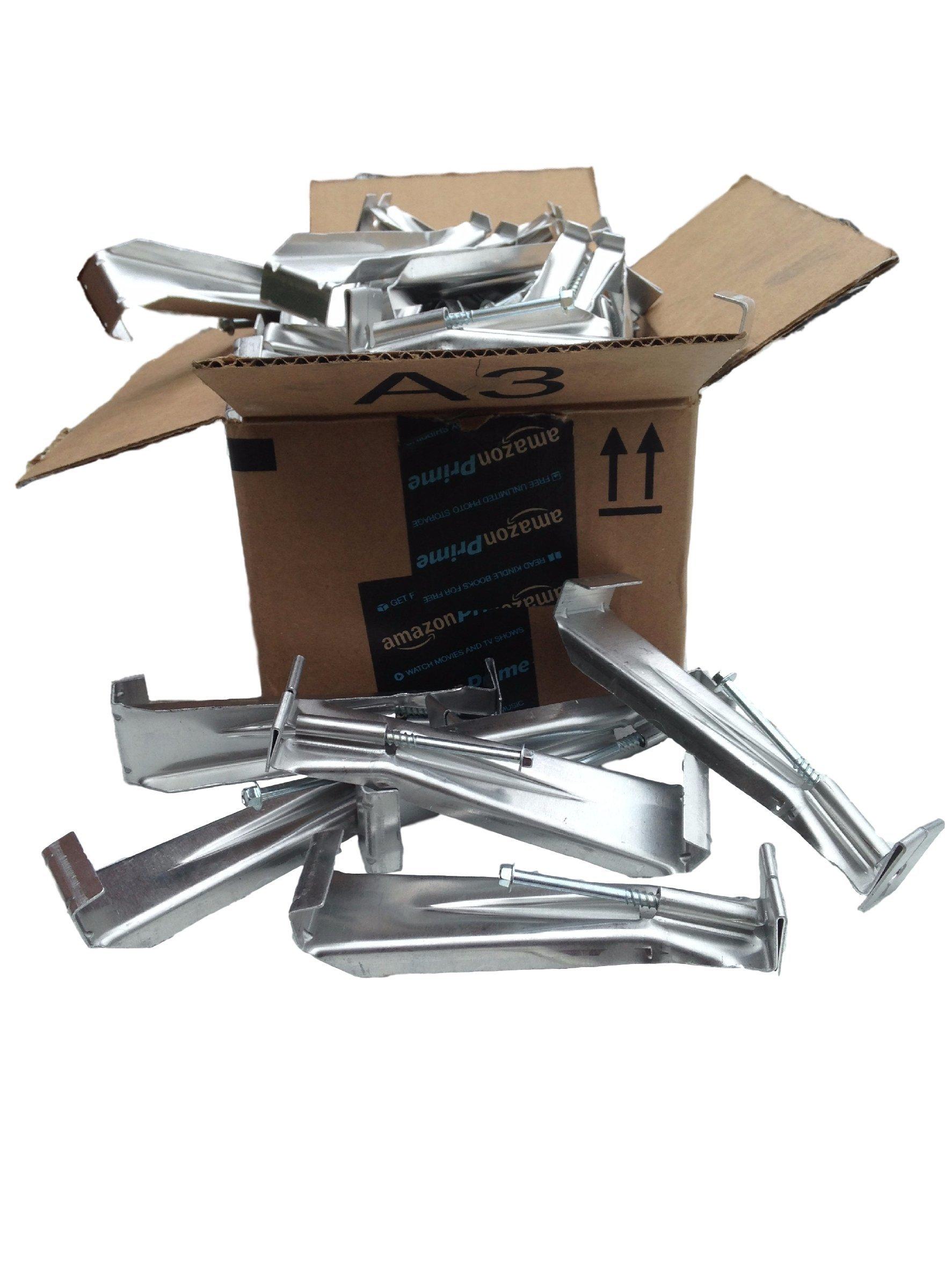6 inch Quick Screw hidden gutter hanger (50 pack)