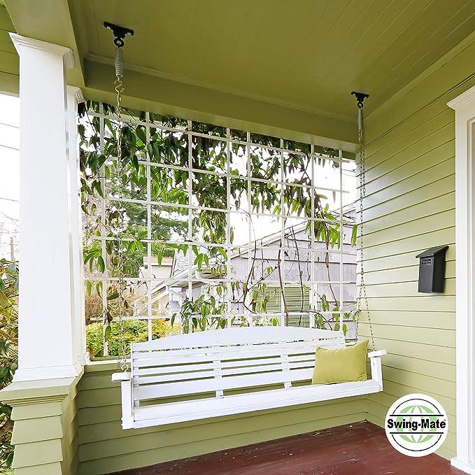 Amazon.com: swing-mate (American Made) Porch Swing Muelles ...