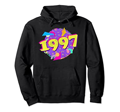Amazon 1997 Hoodie 21st Birthday Shirt Vintage 90s Style Clothing
