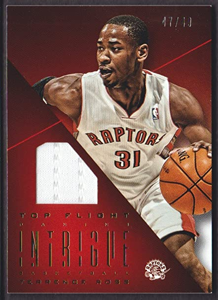 80eea13d49a Image Unavailable. Image not available for. Color: 2012-13 Panini Intrigue  Basketball Top Flight Jersey #45 Terrence ...