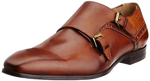 5e805489c110 Ruosh Men s Tan Leather Formal Shoes - 11 UK India (45 EU)(12 US ...