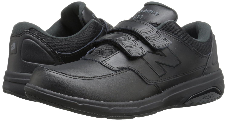 New Balance Men's MW813V1 Walking Shoe, Black, 11 4E US