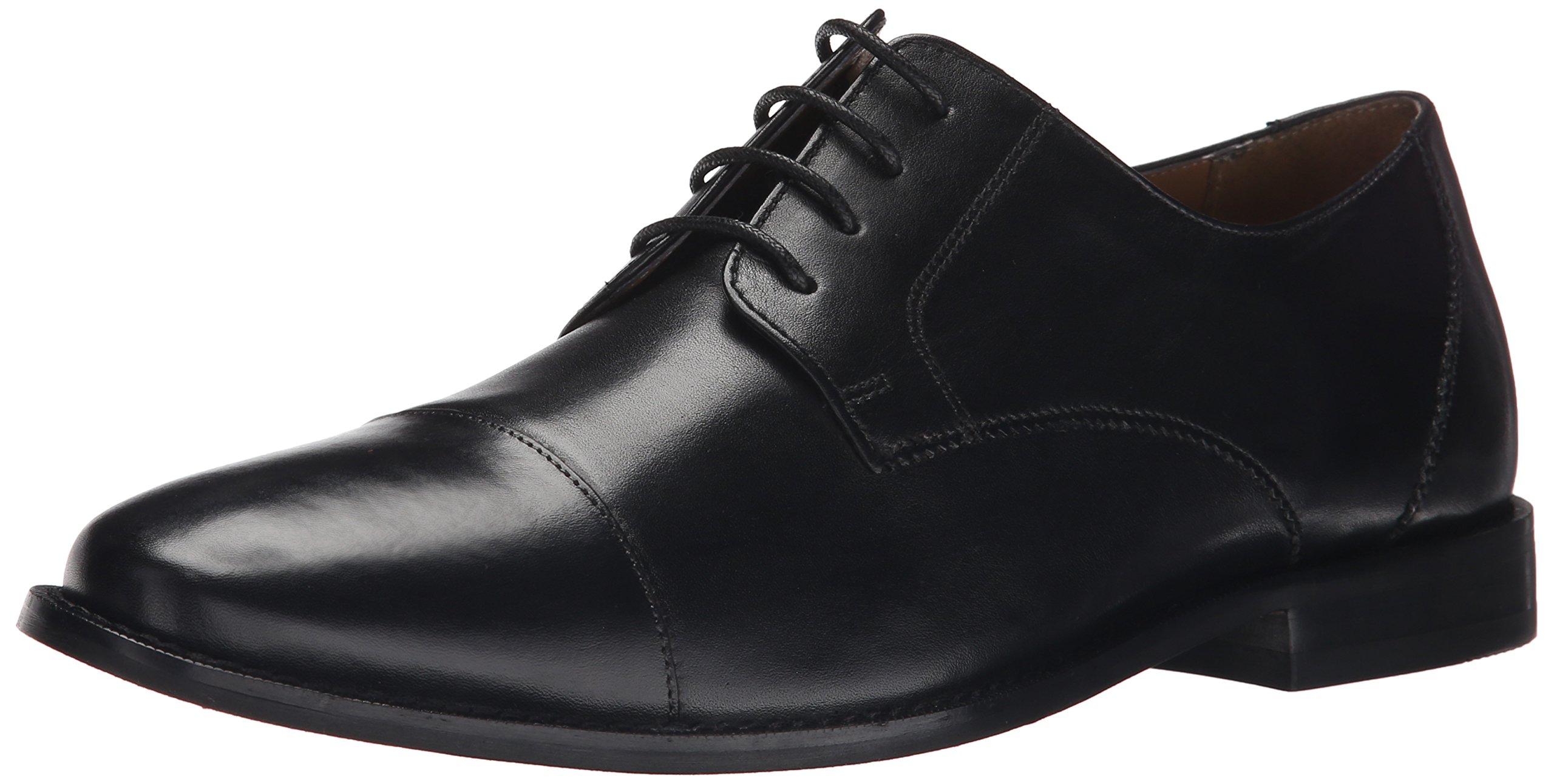 Florsheim Men's Montinaro Cap Toe Dress Shoe Lace Up Oxford, Black, 9.5 3E US by Florsheim