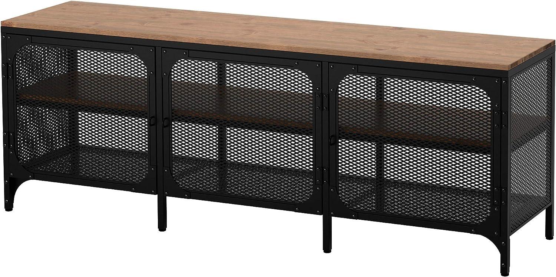 Ikea FJÄLLBO - Mueble para TV, color negro: Amazon.es: Juguetes y juegos