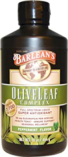 product image for Barleans, Olive Leaf Complex Peppermint, 16 Ounce