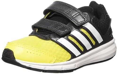 quality design 0fe08 76100 adidas LK Sport CF K - Zapatillas para niño, Color NegroAmarilloBlanco,  Talla 33 Amazon.es Zapatos y complementos