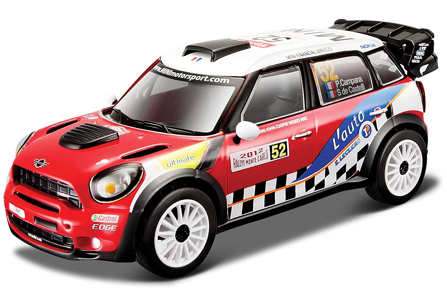Amazon.com: Burago Burago 1: 32 Diecast Rally 2012 Mini ...