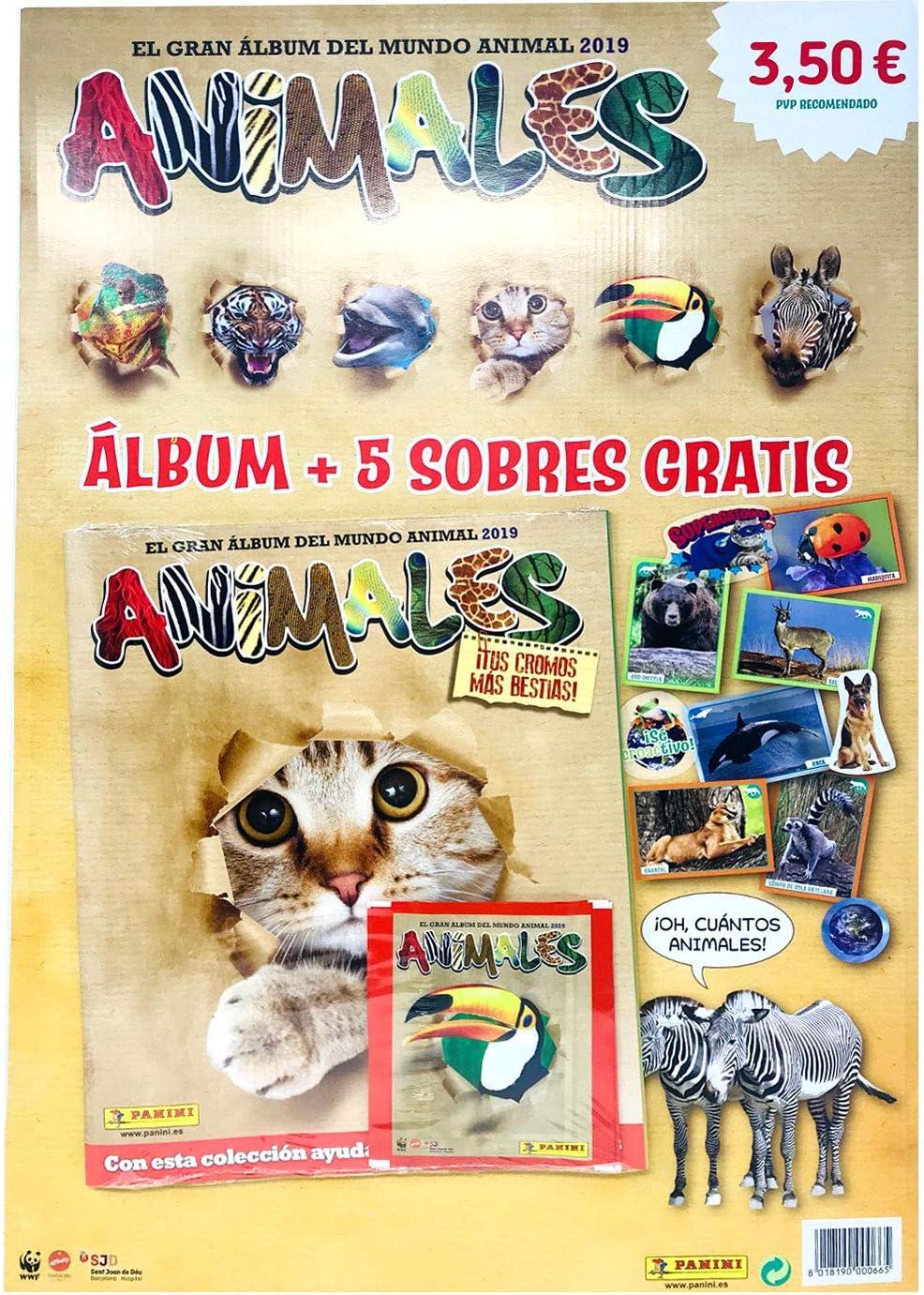 Panini Animals 2019 Album 003713AE