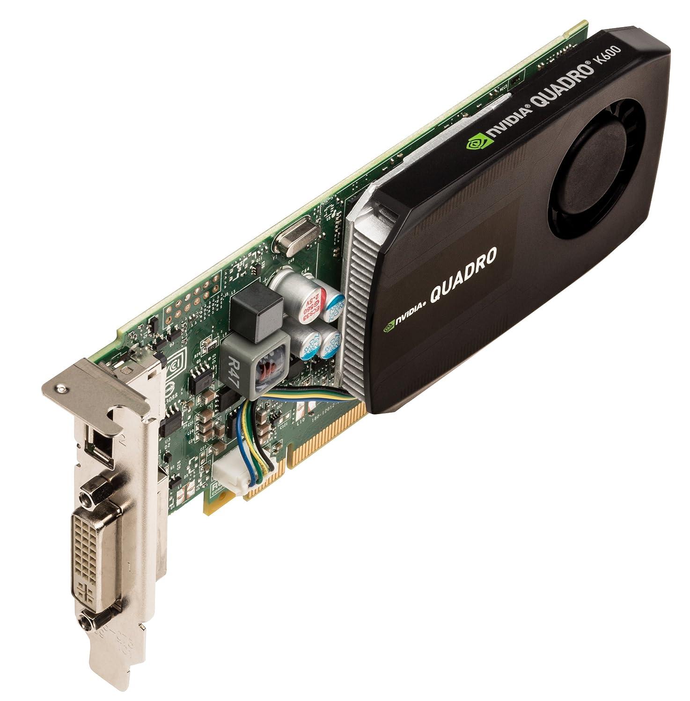 PNY VCQK600-PB NVIDIA Quadro K600 1GB - Tarjeta gráfica ...