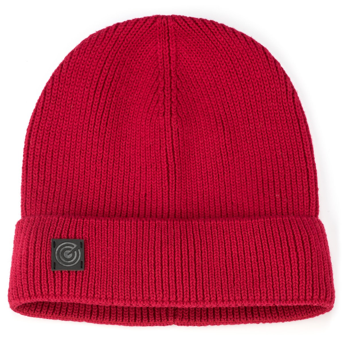 Evony Light Cotton Skull Beanie - Red
