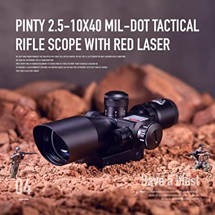 Pinty 2.5-10x40E/Red product image 2