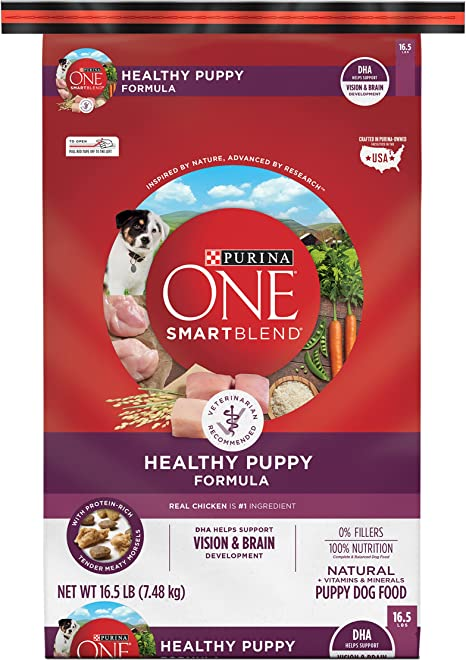 Purina One SmartBlend Natural Puppy Dog Food - Best for Puppies