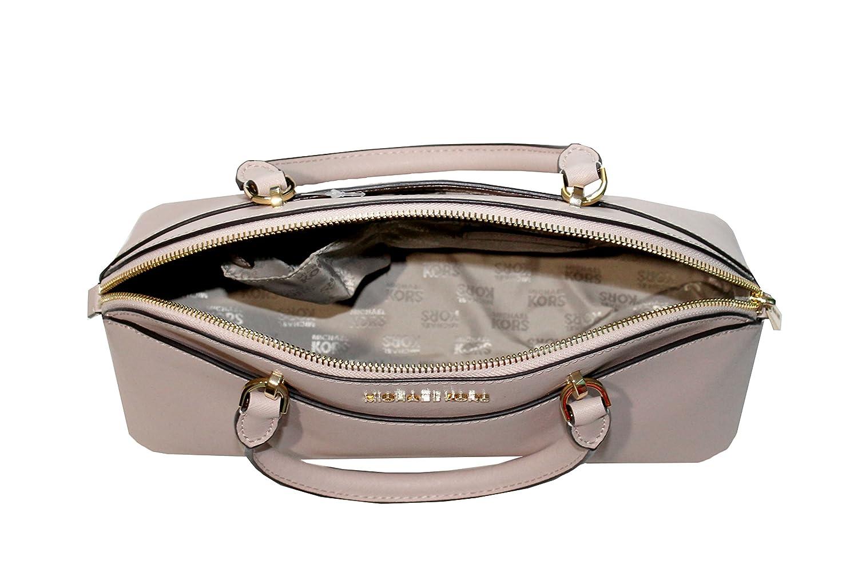efd8f99a53ec MICHAEL Michael Kors EMMY Women's Shoulder Handbag LARGE DOME SATCHEL  (Ballet): Handbags: Amazon.com