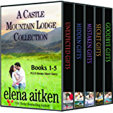 A Castle Mountain Lodge Collection (Books 1-5): Holiday Romance Series