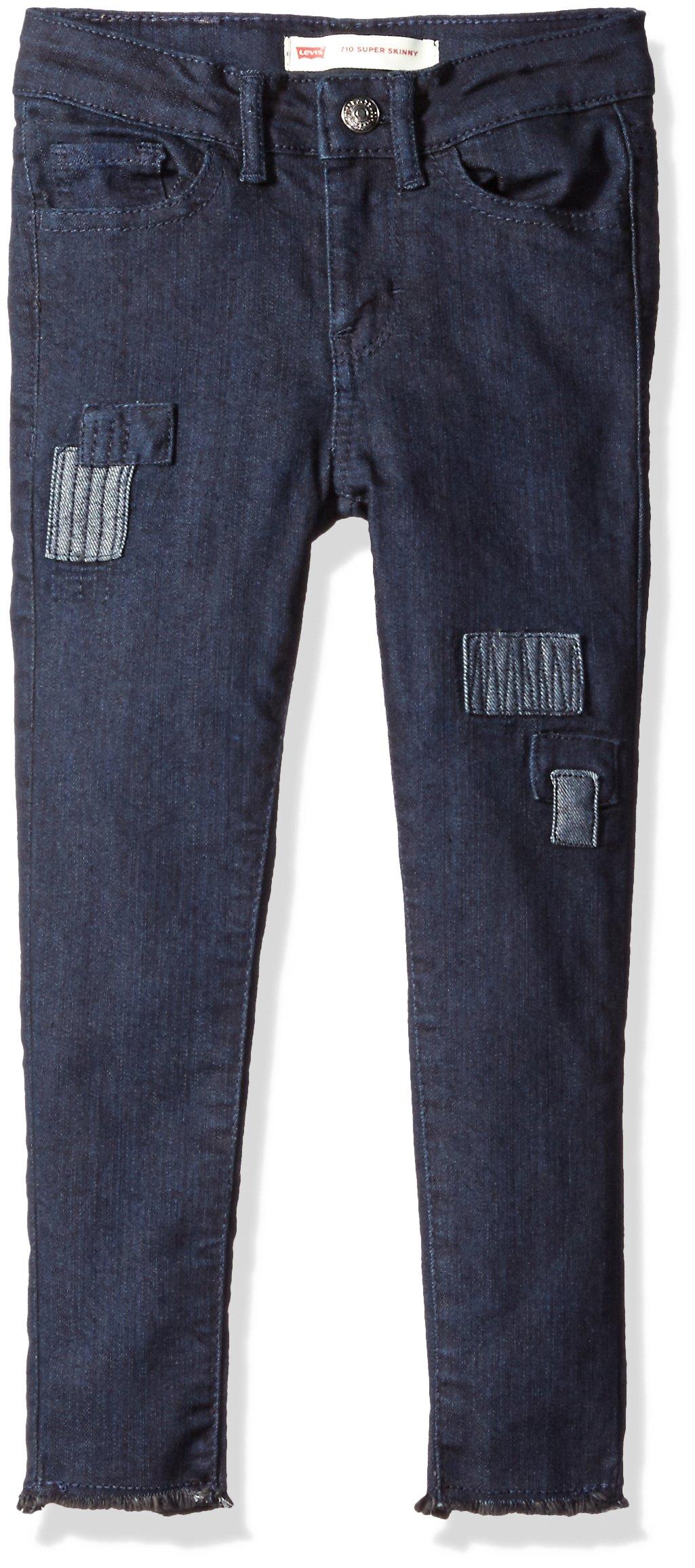 Levi's Girls' Big 710 Super Skinny Fit Jeans, New