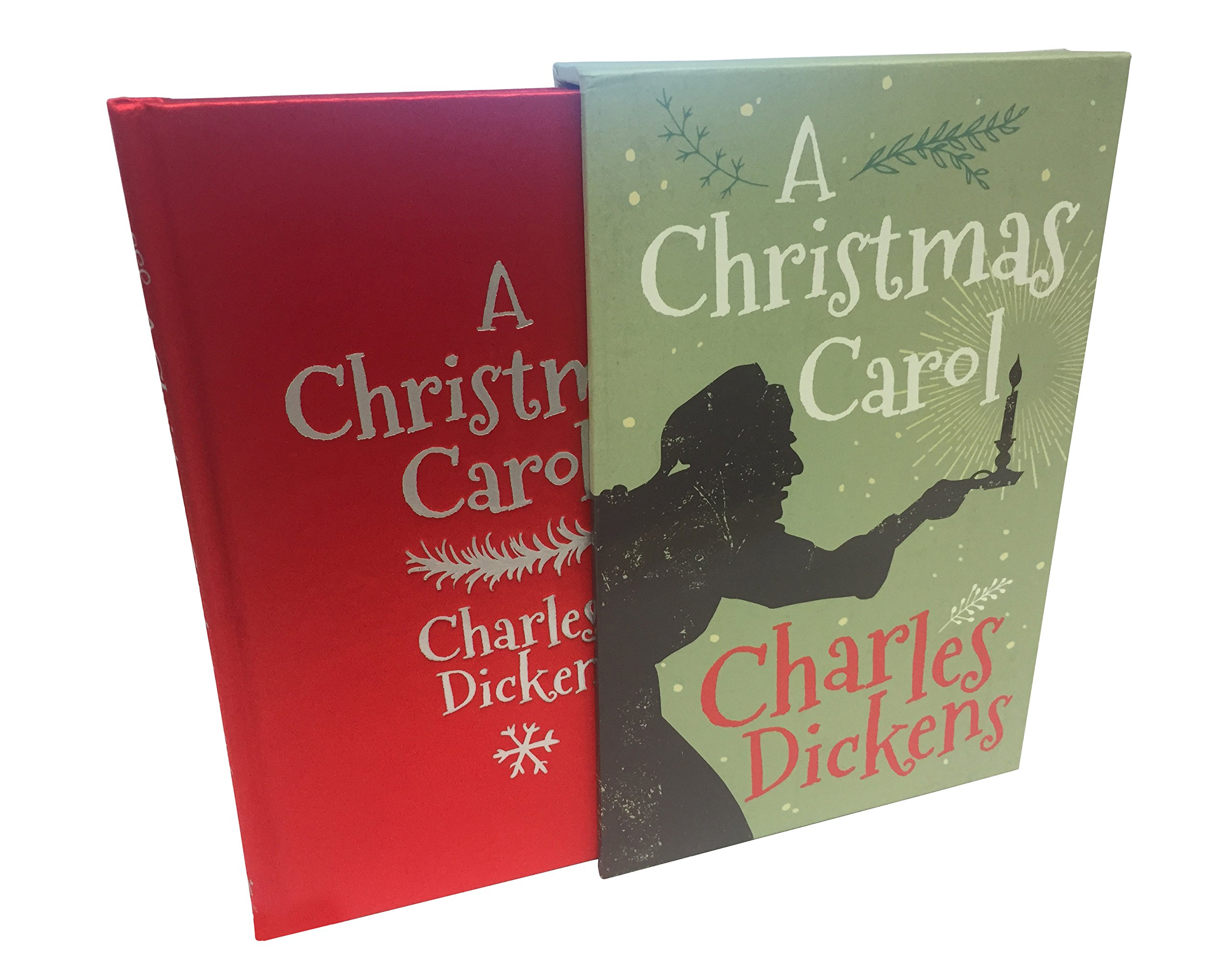 A Christmas Carol Book Cover.A Christmas Carol Slip Case Edition Charles Dickens