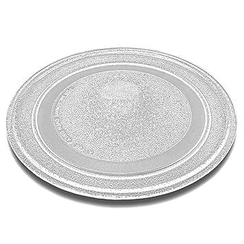 vhbw vidrio plato para microondas, plato giratorio de 24.5cm para microondas Siemens HF12023, HF12033, HF14023, HF14033: Amazon.es: Hogar