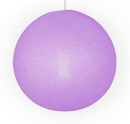 Auténticas Lámparas De Techo CABLE & COTTON® Con Bola En Color