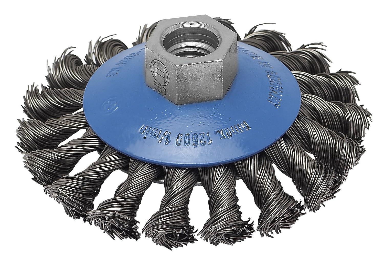 Bosch 2 609 256 511 - Cepillo có nico para amoladoras angulares y rectas, alambre trenzado, 100 mm 2609256511