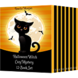 Halloween Witch Cozy Mystery 12-Book Set (English Edition)