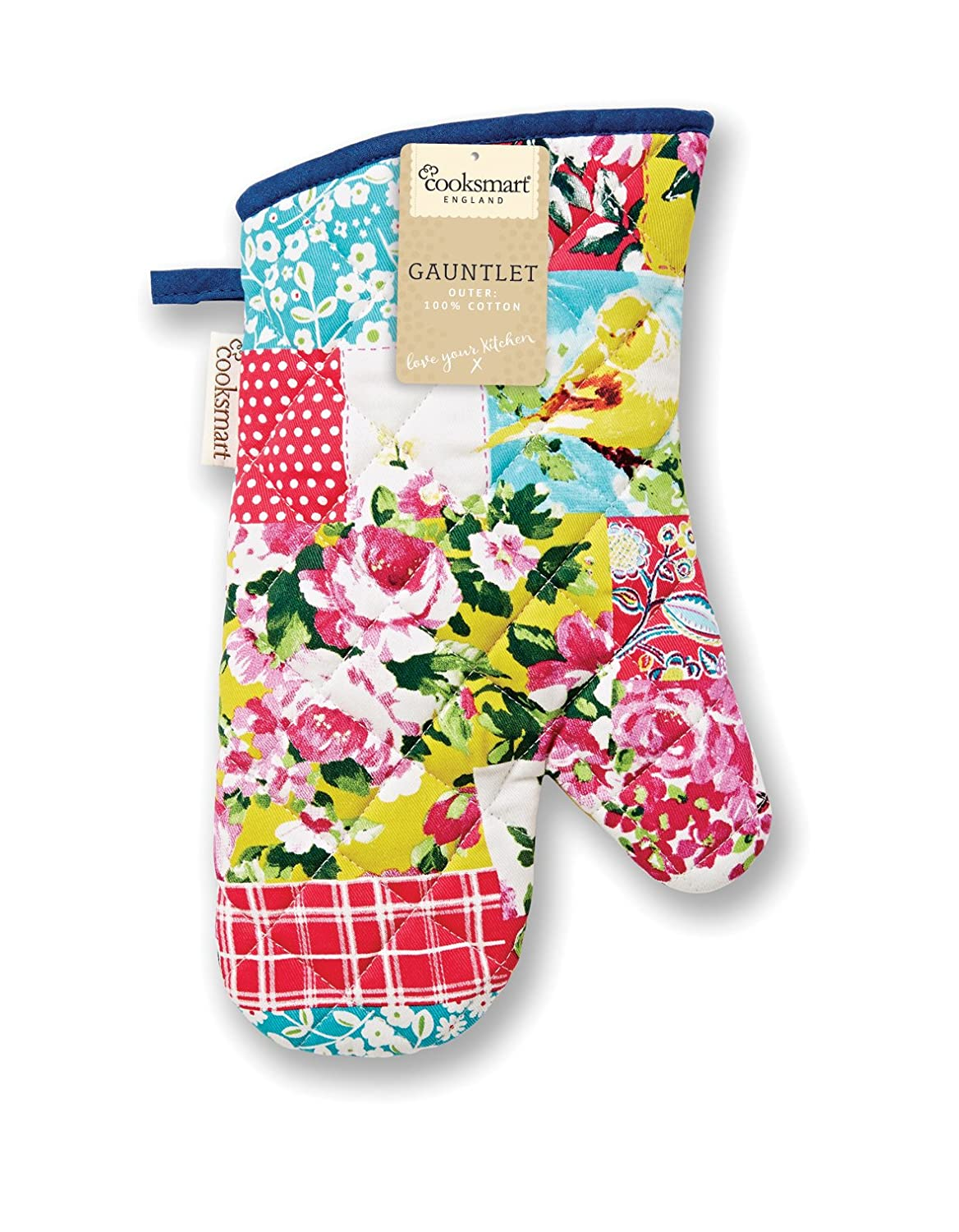 Cooksmart Oriental Patchwork Gauntlet, Multi Colour City Look Imports Ltd 9314