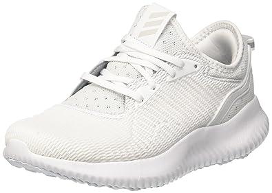 adidas Women's Alphabounce Lux W, WHITE/WHITE, ...