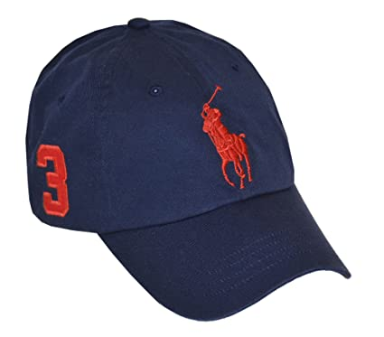 polo cotton chino baseball cap ralph lauren big pony weekend bear