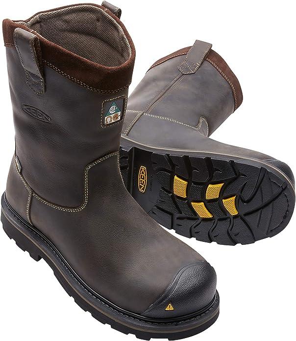verkossa myytävänä jaloilla kuvia Viimeisin muoti Amazon.com | KEEN Utility Men's Tacoma Wellington XT CSA-M ...