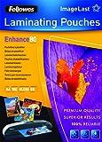 Fellowes Pouches Di Plastificazione, 80 Micron, A4, 100 Pezzi