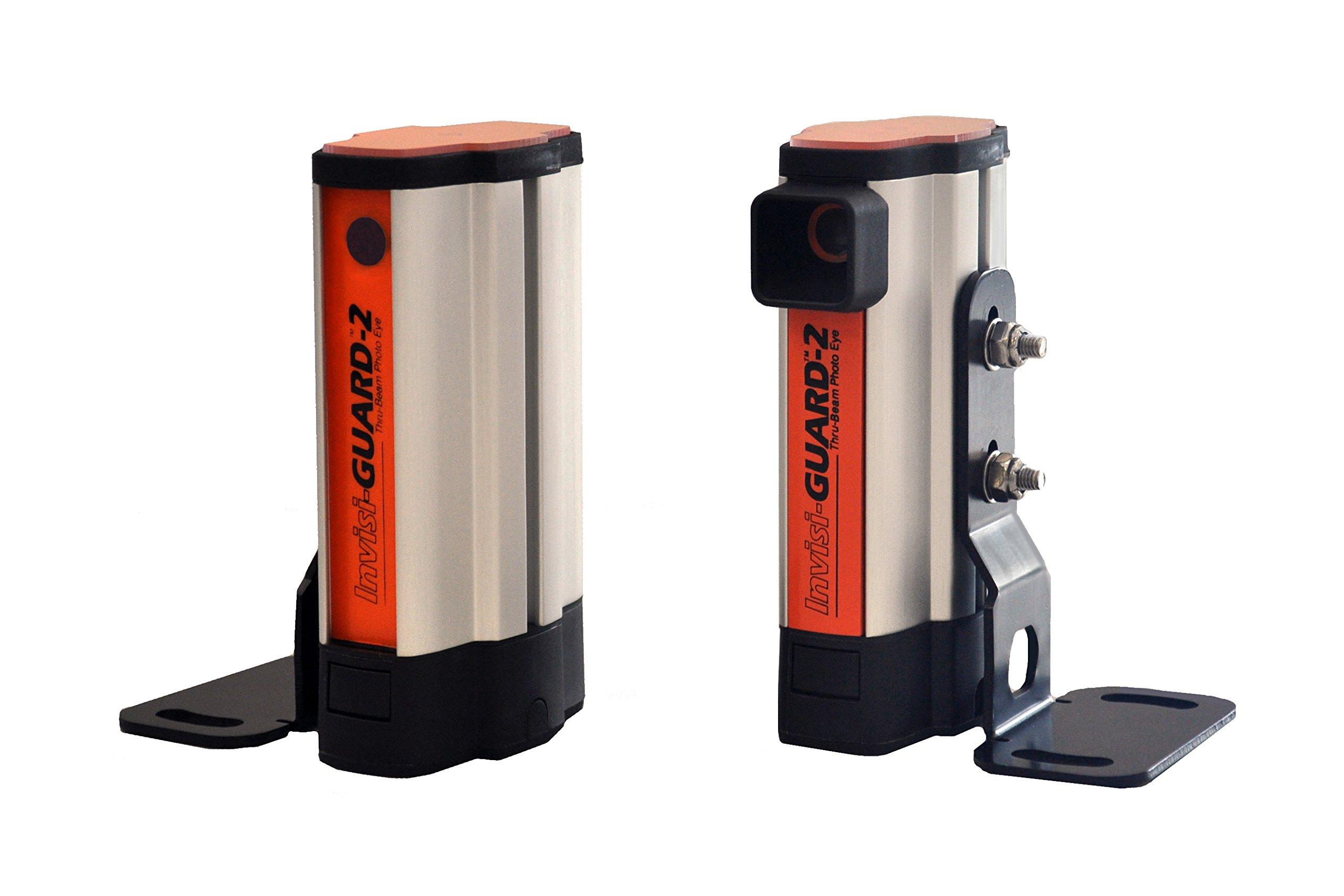 Miller Edge IG2-K10 Invisi-Guard-2 Thru Beam Photo Optic System with Battery Powered Emitting Unit, 30 Feet