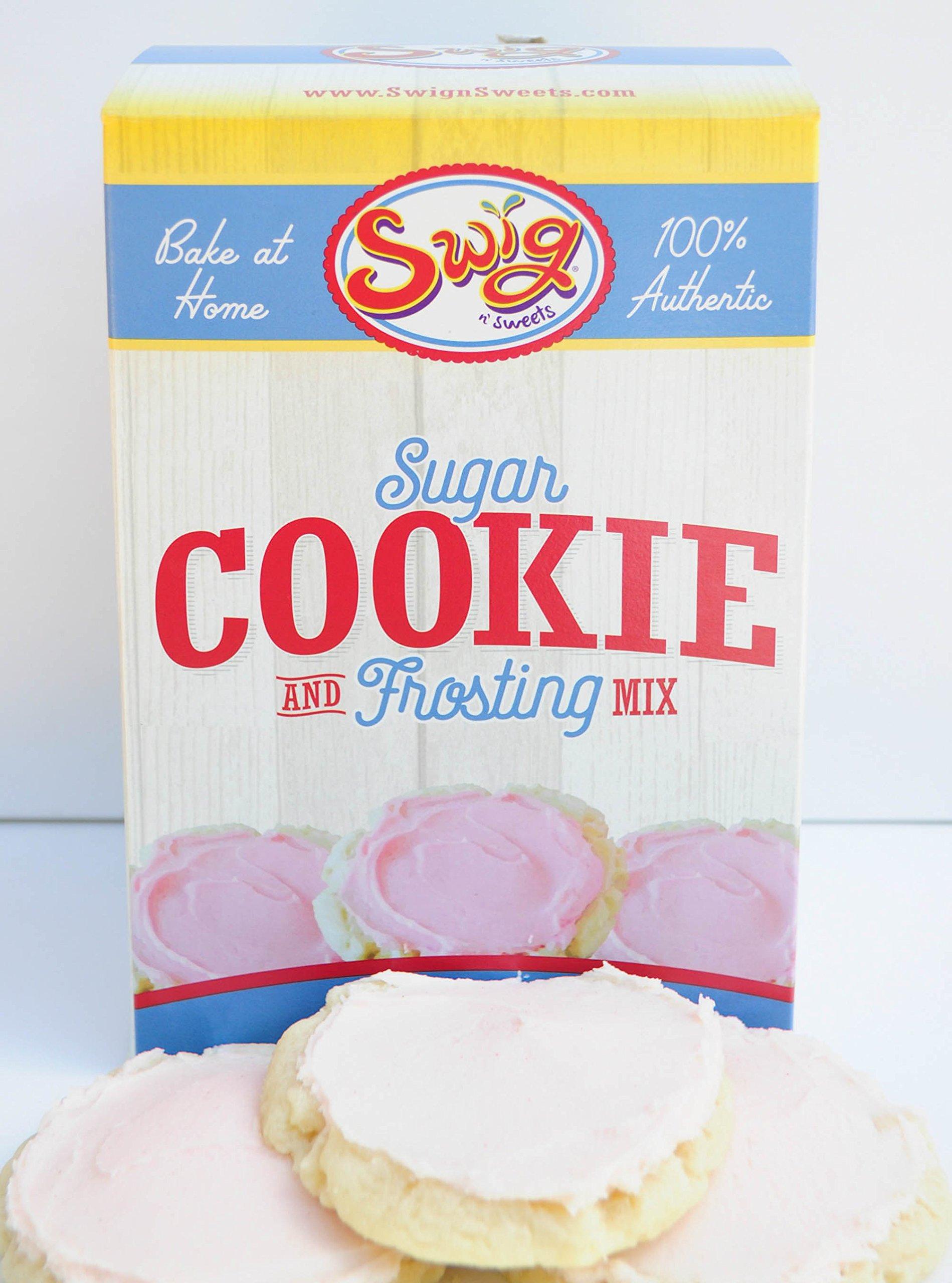 Swig Cookie Mix, Homemade Sugar Cookies