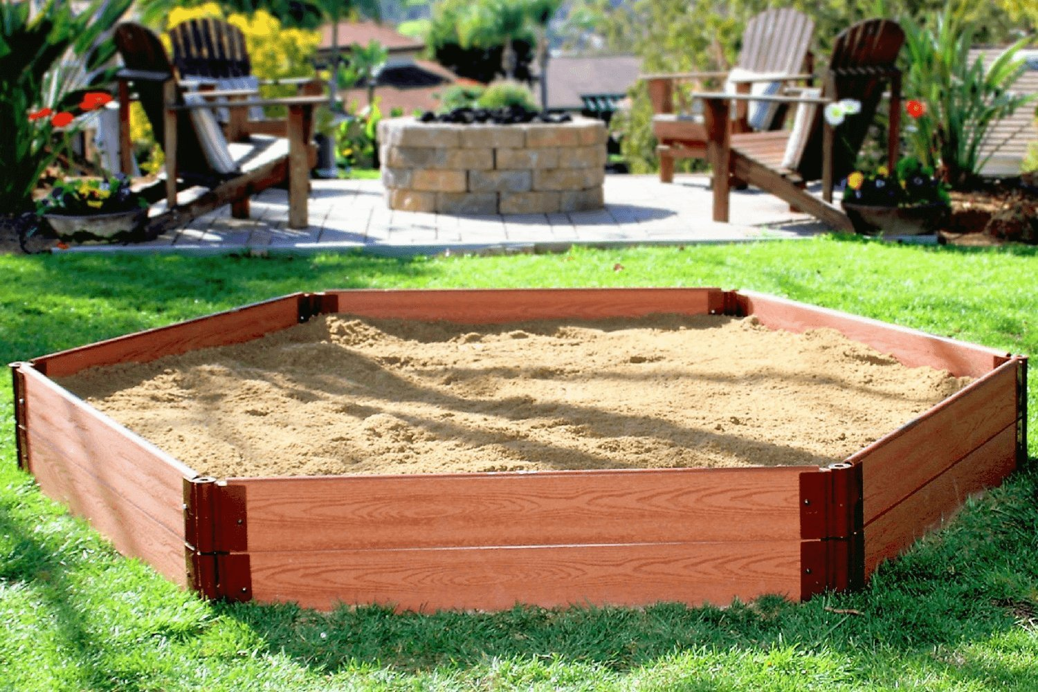 Frame It All 300001228 Sandbox Kit with Collapsible Cover by Frame It All (Image #4)