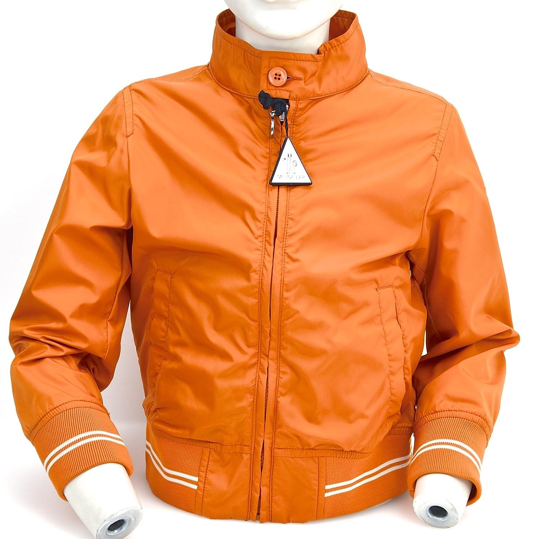 Moncler Giacca A Vento Bambino Nylon Arancione Art. PMSS66