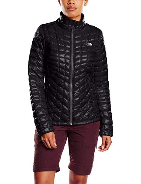 The North Face Thermoball Chaqueta-Mujer, Negro, XS