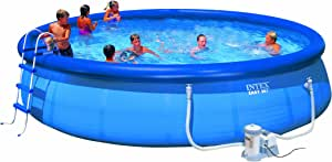 Intex - Piscina Easy Set con depuradora: Amazon.es: Jardín