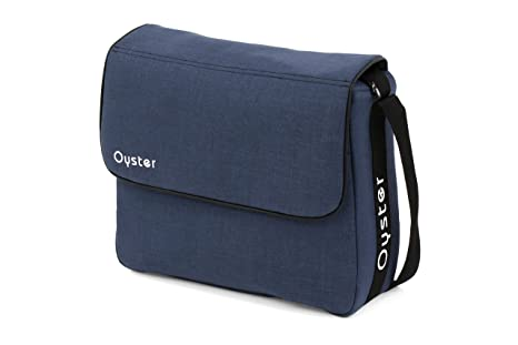 Oxford Blue with Mat BabyStyle Oyster Changing Bag