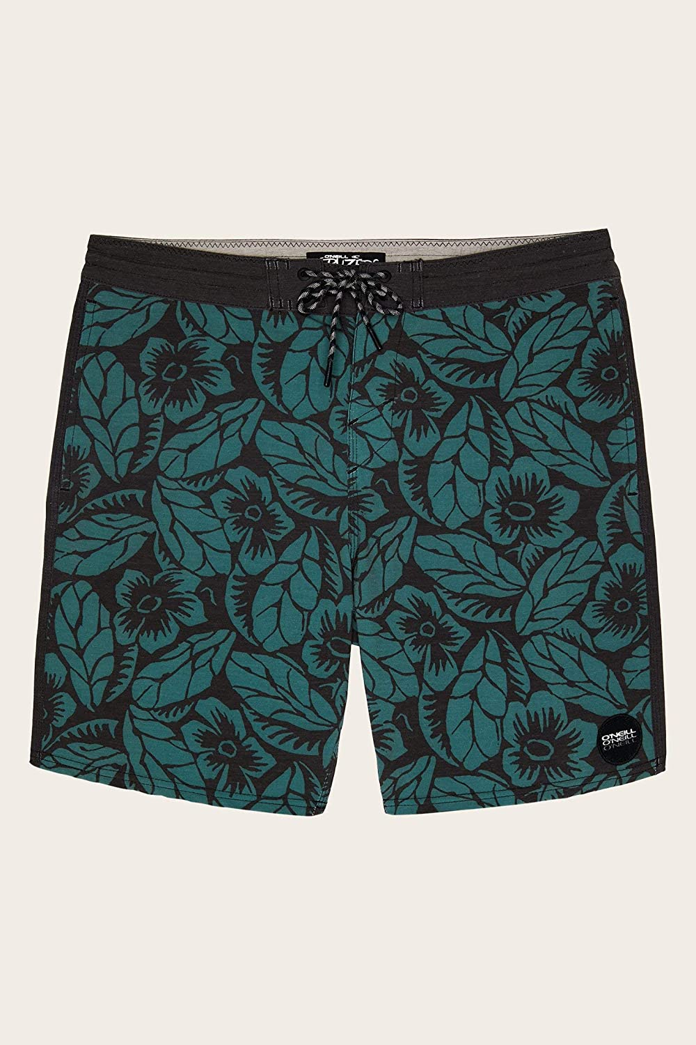 18 Inch Outseam with Hand Pockets ONEILL Mens Water Resistant Stretch Volley Swim Boardshorts