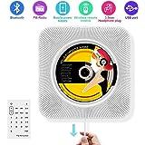 Portable CD player, Alice Dreams lettore CD Musica Wireless Bluetooth Altoparlante Di Musica Mp3 Player con telecomando e MP3 3.5 mm per cuffie audio Jack AUX di ingresso/uscita
