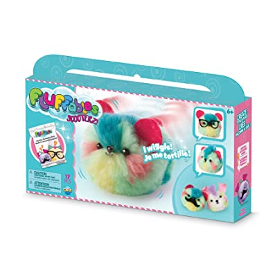 "ORB The Factory Fluffables Taffy Motion Arts & Crafts, Green/Blue/Yellow/Pink, 11.75"" x 2"" x 6"": Toys & Games"