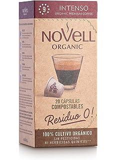 Cafes Novell 1870 Cápsulas de Café - Intenso, Pack de 8 x 10 ...