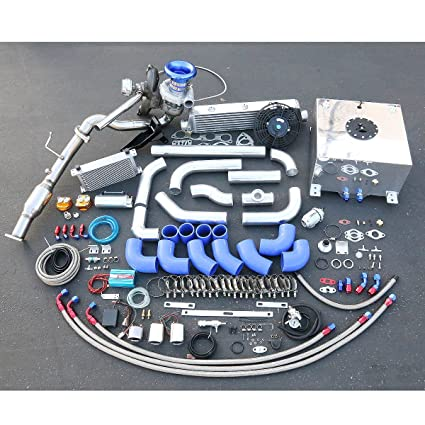 For Honda Civic Si 2.0L High Performance 25pcs T04E Turbo Upgrade Installation Kit