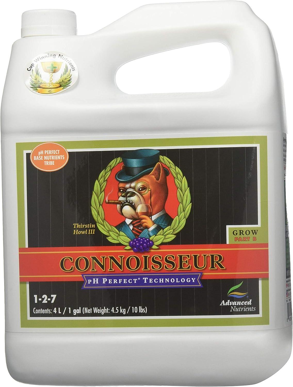 Advanced Nutrients pH Perfect Connoisseur Grow Part B Plant Nutrient, 4 L