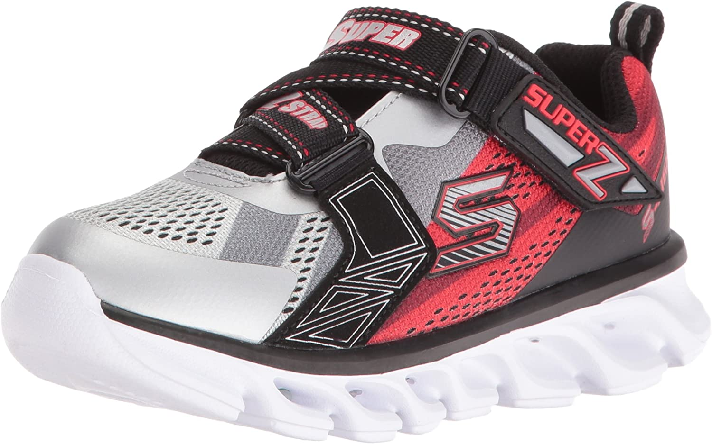 Skechers Kids Boys Hypno Flash Z Strap Light Up  Sneaker