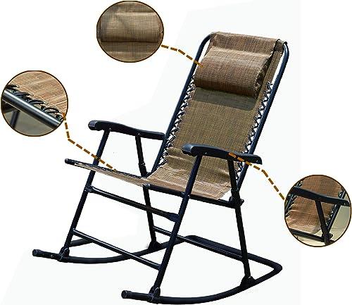 LOKATSE HOME Headrest Lounge Recliner Chair