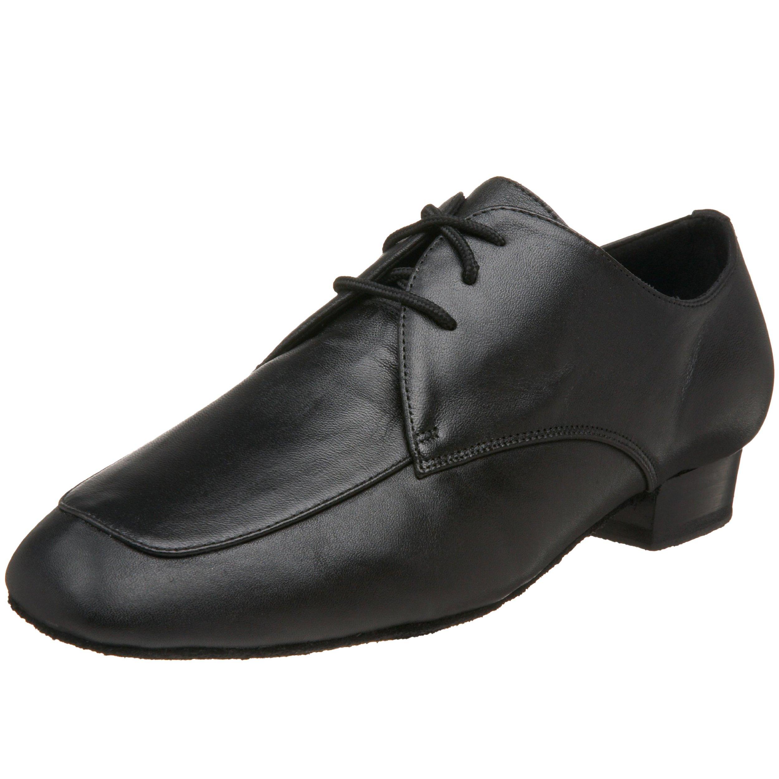 Capezio Men's Ben 1'' Ballroom Shoe,Black,10.5 W US