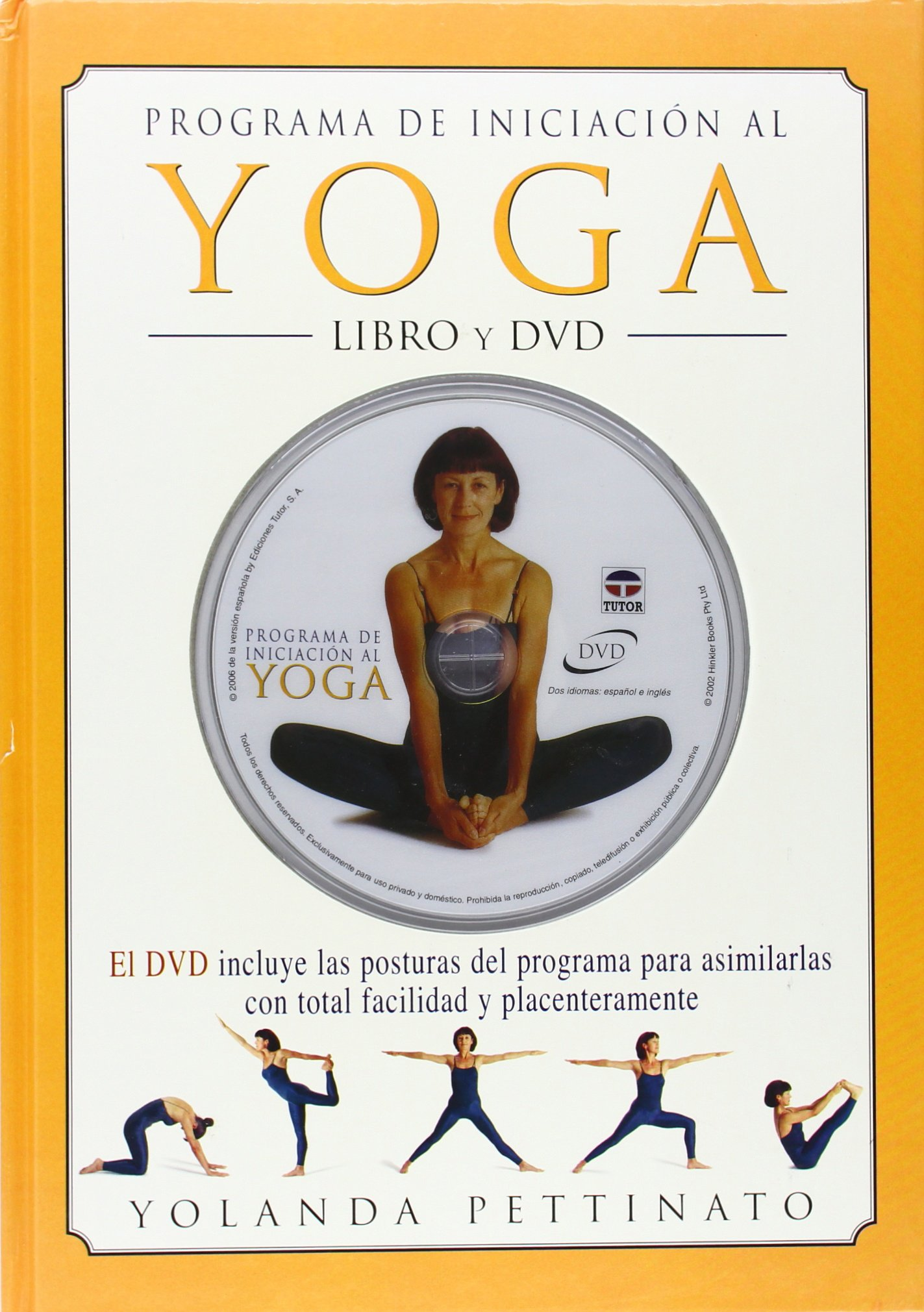 Programa de Iniciación Al Yoga - Libro + DVD: Amazon.es ...