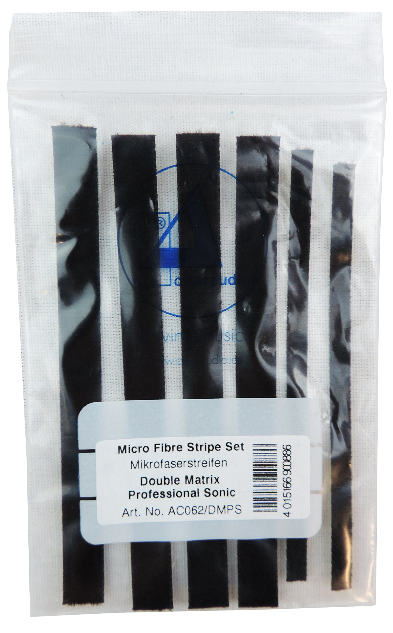 Clearaudio AC062/DMPS Microfiber Strips for Double Matrix Pro-Sonic LP Cleaner