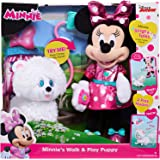 Just Play Minnie's Walk & Play Puppy Feature Plush